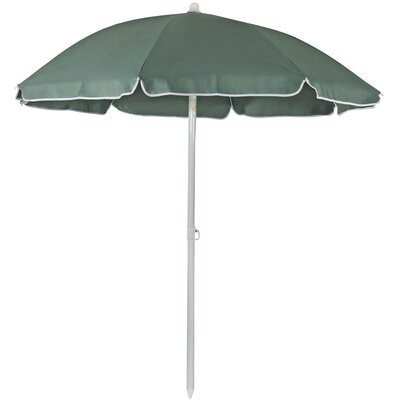 5 Steel Drape Umbrella Fabric: Sage Green