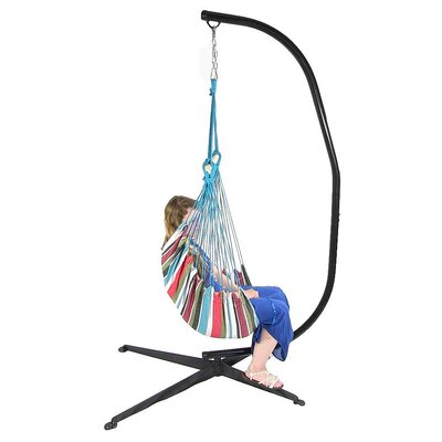 Chair Hammock with Stand Color: Cool Breeze