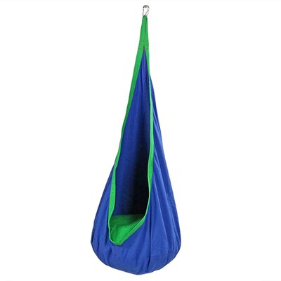 Hanging Chair Hammock for Children Color: Blue