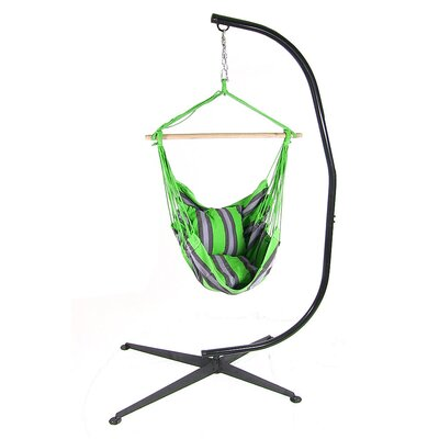Chair Hammock with Stand Color: Midnight Jungle