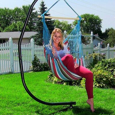 Hanging Chair Hammock Color: Cool Breeze