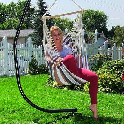 Hanging Chair Hammock Color: Calming Desert