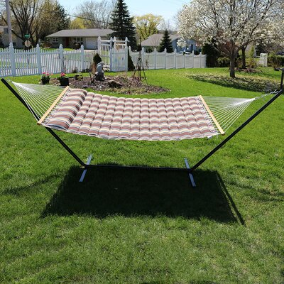 Quilted Designs Double Fabric 2 Person Hammock