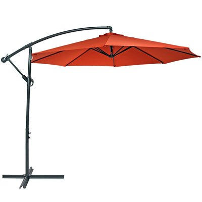 Image of Raymundo 10.5' Cantilever Umbrella Fabric: Burnt Orange