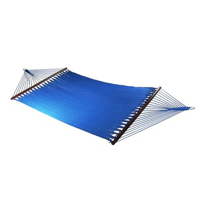 Large 2 Person Rope Tree Hammock Color: Blue
