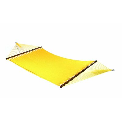 Large 2 Person Rope Tree Hammock Color: Yellow