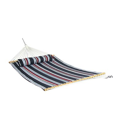 Quilted Double Fabric 2-Person Tree Hammock Color: Nautical Stripe