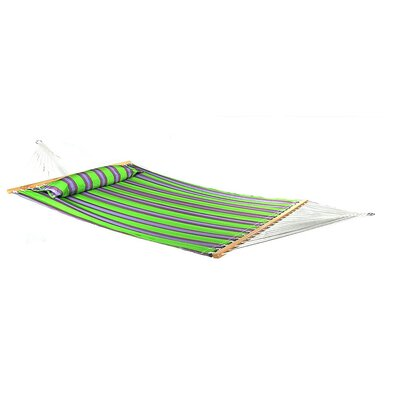 Quilted Double Fabric 2-Person Tree Hammock Color: Midnight Jungle