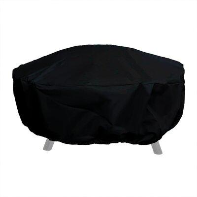 Fire Pit Cover Color: Black, Size: 18 H x 40 W x 40 D