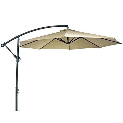 10 Steel Offset Cantilever Umbrella Fabric: Beige