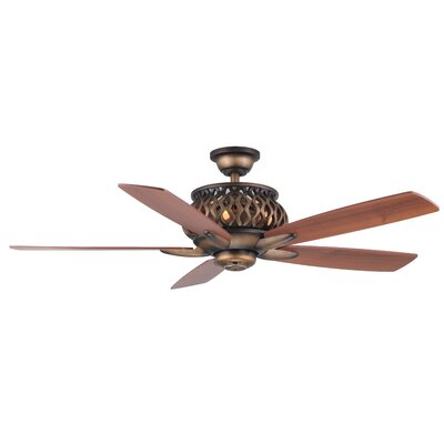 52 Berke 5-Blade Ceiling Fan with Remote