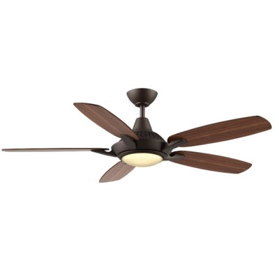 52 Vandeusen 5 Blade LED Ceiling Fan Finish: Oiled Bronze