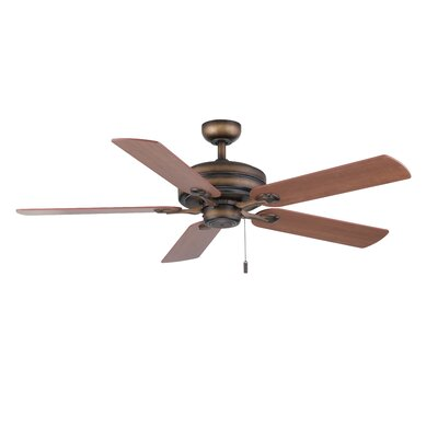 52 Vandoren 5-Blade Ceiling Fan Finish: French Beige