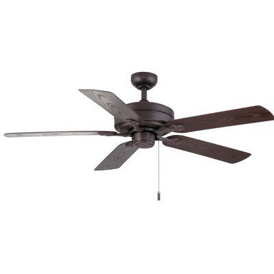 52 Dashwood 5-Blade Ceiling Fan Color: Textured Brown