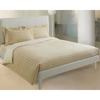 Basic 3 Piece Reversible Duvet Cover Set Size: King, Color: Taupe