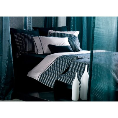 Tuxedo 3 Piece Reversible Duvet Cover Set Size: King