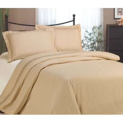 St. Pierre Classic 3 Piece Reversible Duvet Cover Set Size: King