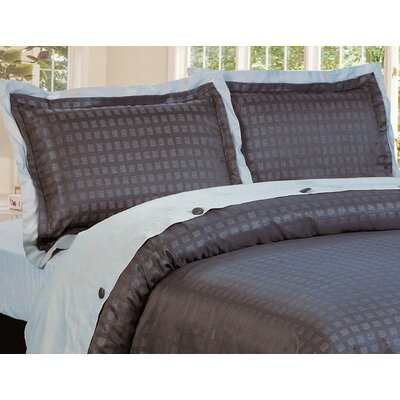 Envoy 3 Piece Reversible Duvet Cover Set Size: Queen