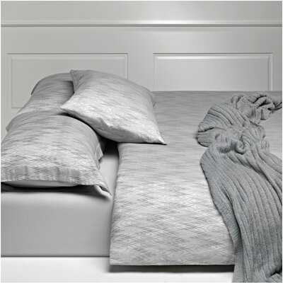 Lugano 3 Piece Reversible Duvet Cover Set Size: Queen