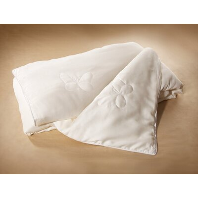 Luxury Silk Reversible Duvet Cover Set Size: King