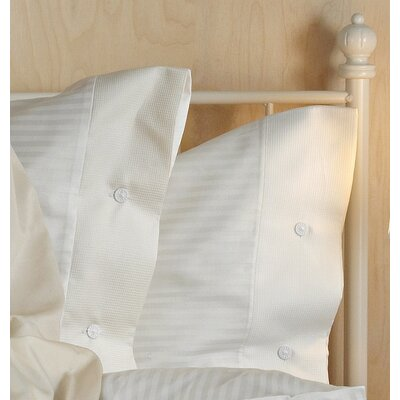 TrueStuff Artkis 3 Piece Reversible Duvet Set Size: Queen, Color: Ivory