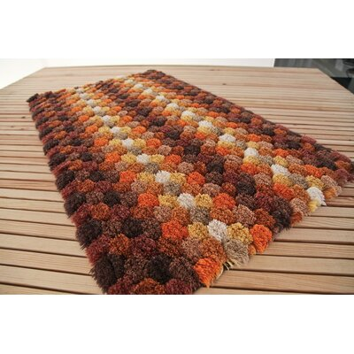 Graccioza Bubble Bath Rug Color: Brown, Size: 24 W x 39 L