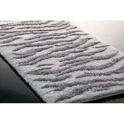 Hizer Zebra Bath Rug Size: 39.4 x 23.6