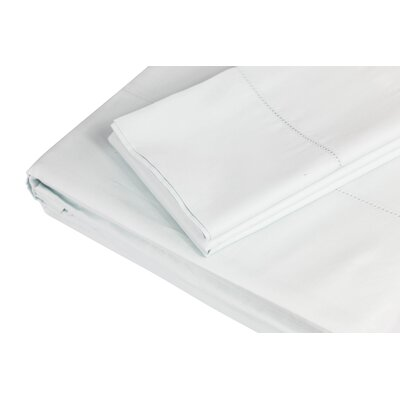 500 Thread Count 100% Cotton Sheet Set Size: King, Color: Duck Egg