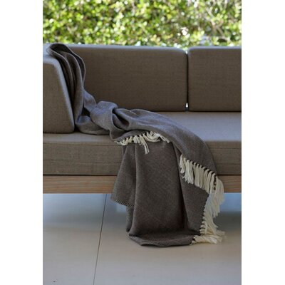 Merino Throw Color: Dark Grey