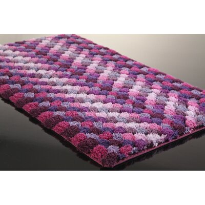 Graccioza Bubble Bath Rug Size: 20 W x 31 L, Color: Pink