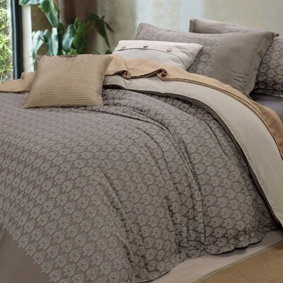 Genova 3 Piece Reversible Duvet Cover Set