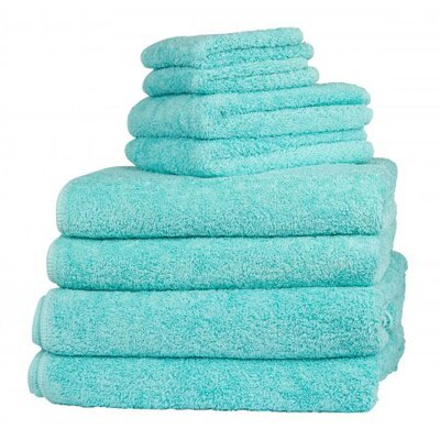 Graccioza Long Double Loop Bath Sheet Color: Aruba