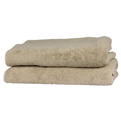 Hammam Guest Fingertip Towel Color: Sand