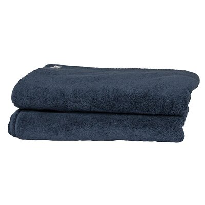 Hammam Guest Fingertip Towel Color: Marine