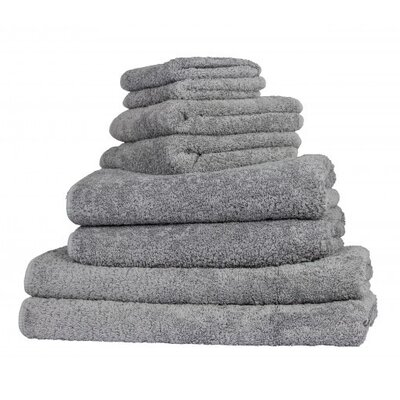 Graccioza Long Double Loop Bath Sheet Color: Anthracite