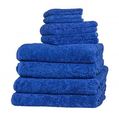 Graccioza Long Double Loop Bath Sheet Color: Ultramarine