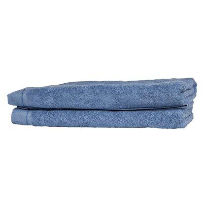 Diamond Bath Sheet Color: Ceramic Blue