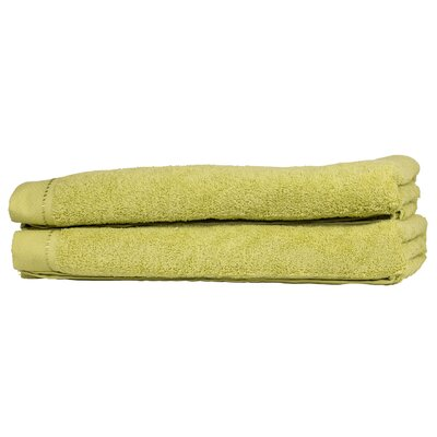 Diamond Bath Sheet Color: Lime Green