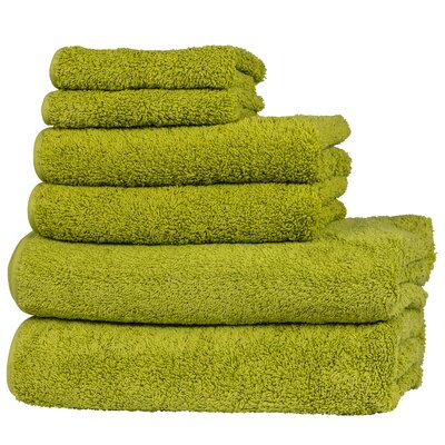 Hammam 6 Piece Towel Set Color: Perennial