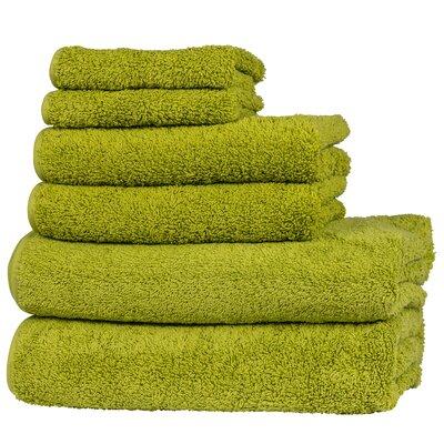 Hammam 6 Piece Towel Set Color: Perennial
