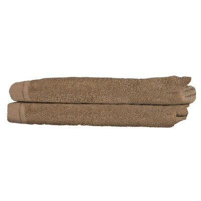 Diamond Guest Fingertip Towel Color: Taupe