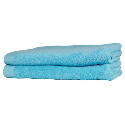 Diamond Guest Fingertip Towel Color: Mediterranean Blue