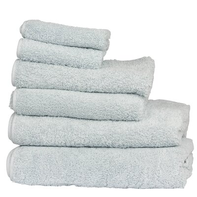 Hammam 6 Piece Towel Set Color: Atmosphere