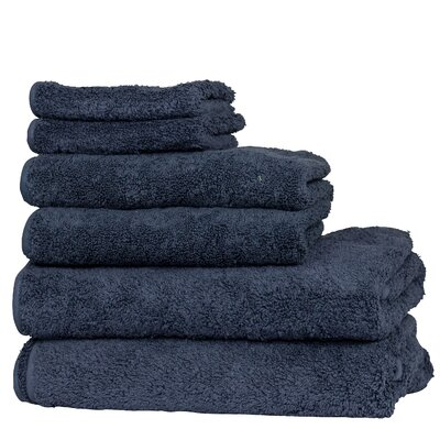 Hammam 6 Piece Towel Set Color: Marine