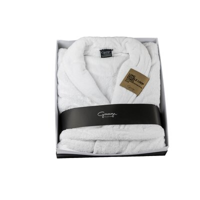 Graccioza Double Loop Bath Robe Size: Extra Large