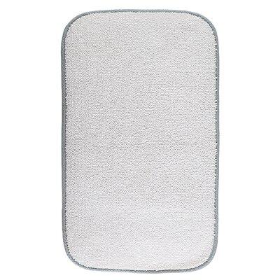 Kel Contour Bath Rug Size: 60 W x 100 L, Color: Silver