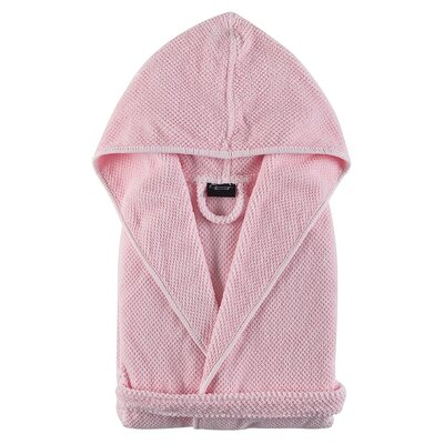 Graccioza Childrens Bathrobe Size: Large, Color: Pink