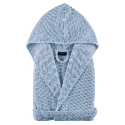 Graccioza Childrens Bathrobe Size: Large, Color: Blue