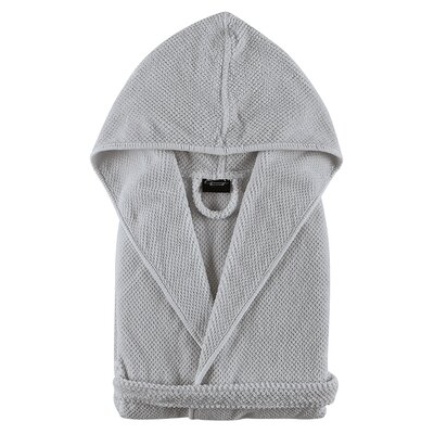 Graccioza Childrens Bathrobe Size: Small, Color: Silver
