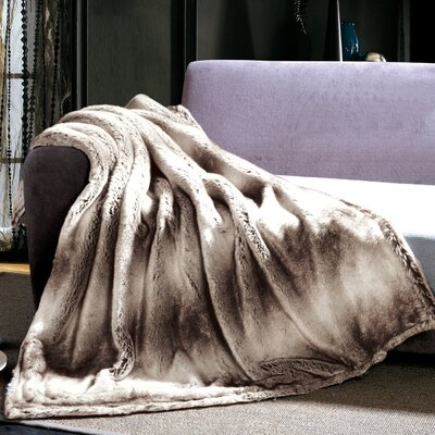 Snow Linx Faux Fur Throw